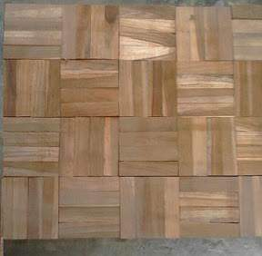 Jual wall cladding kayu